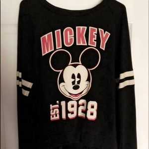 Sweaters - Mickey Long Sleeve Sweatshirt